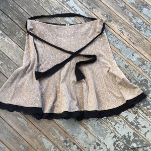 Maurice's Flared Tweed/Lace Skirt 11/12